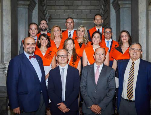 El director general de Industria Alimentaria clausura la 8ª Edición del Máster en Gestión de Empresas Agroalimentarias